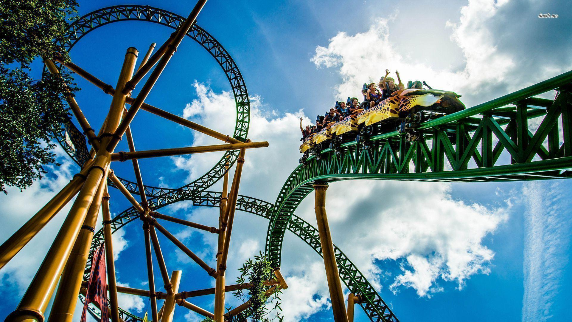 roller coaster wallpapers - wallpaper cave