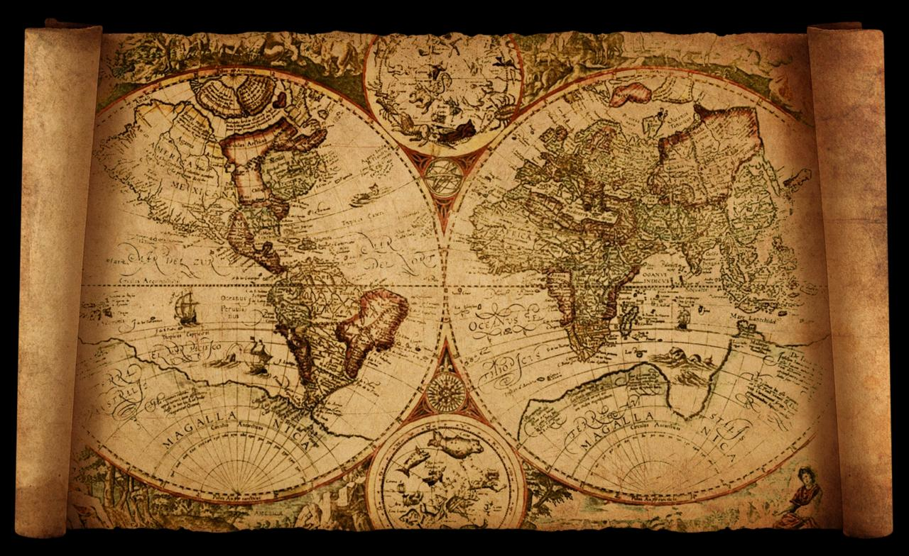 Old map backgrounds wallpaper cave old world map by hanciong on deviantart gumiabroncs Image collections