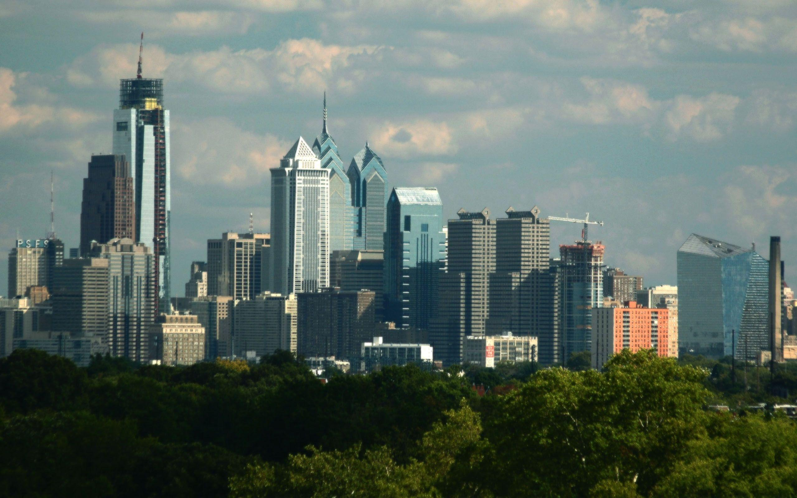 philadelphia skyline wallpaper - photo #1