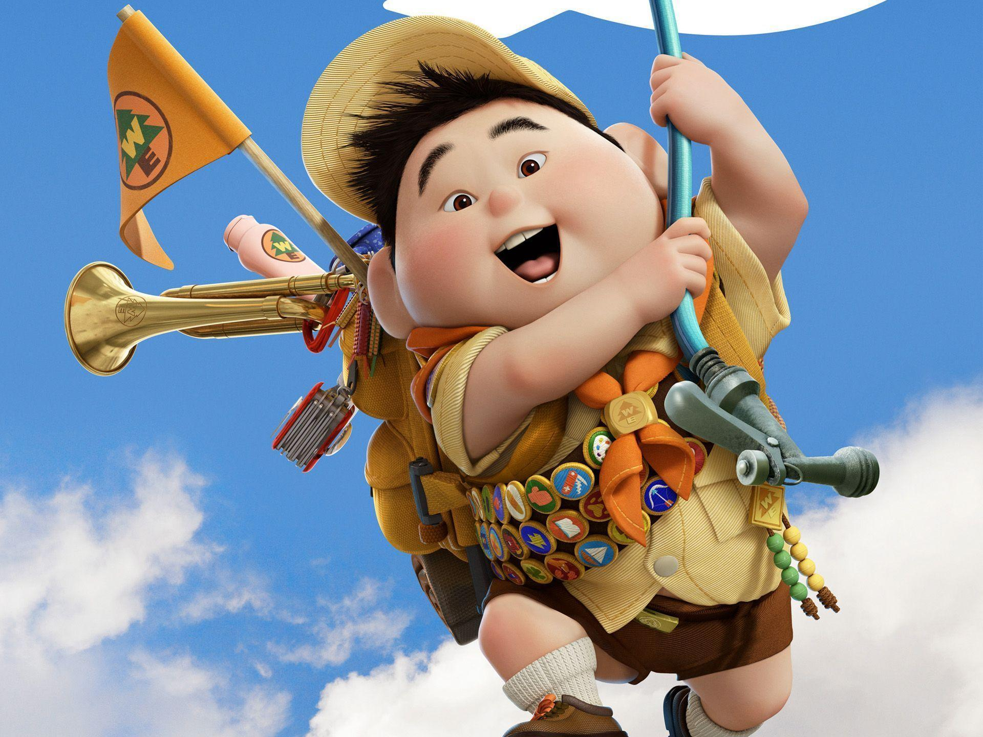 Russell Boy in Pixar's UP Wallpapers | HD Wallpapers