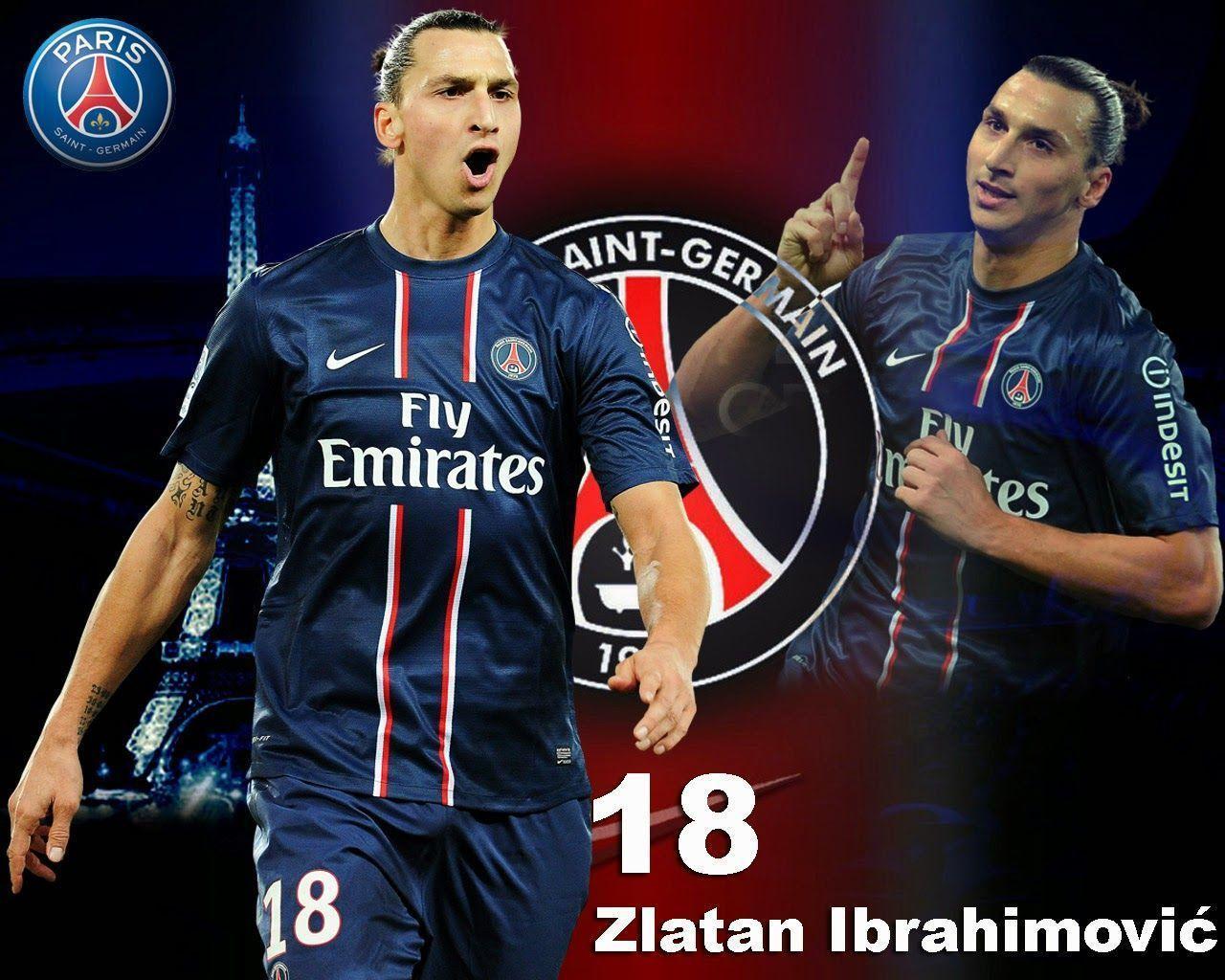 Zlatan Ibrahimovic PSG Wallpaper