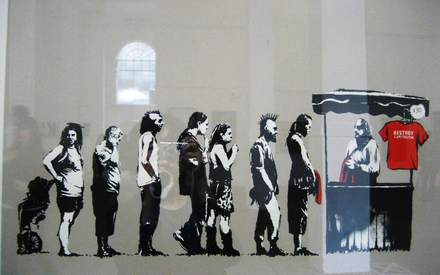 banksy graffiti wallpapers wallpaper cave