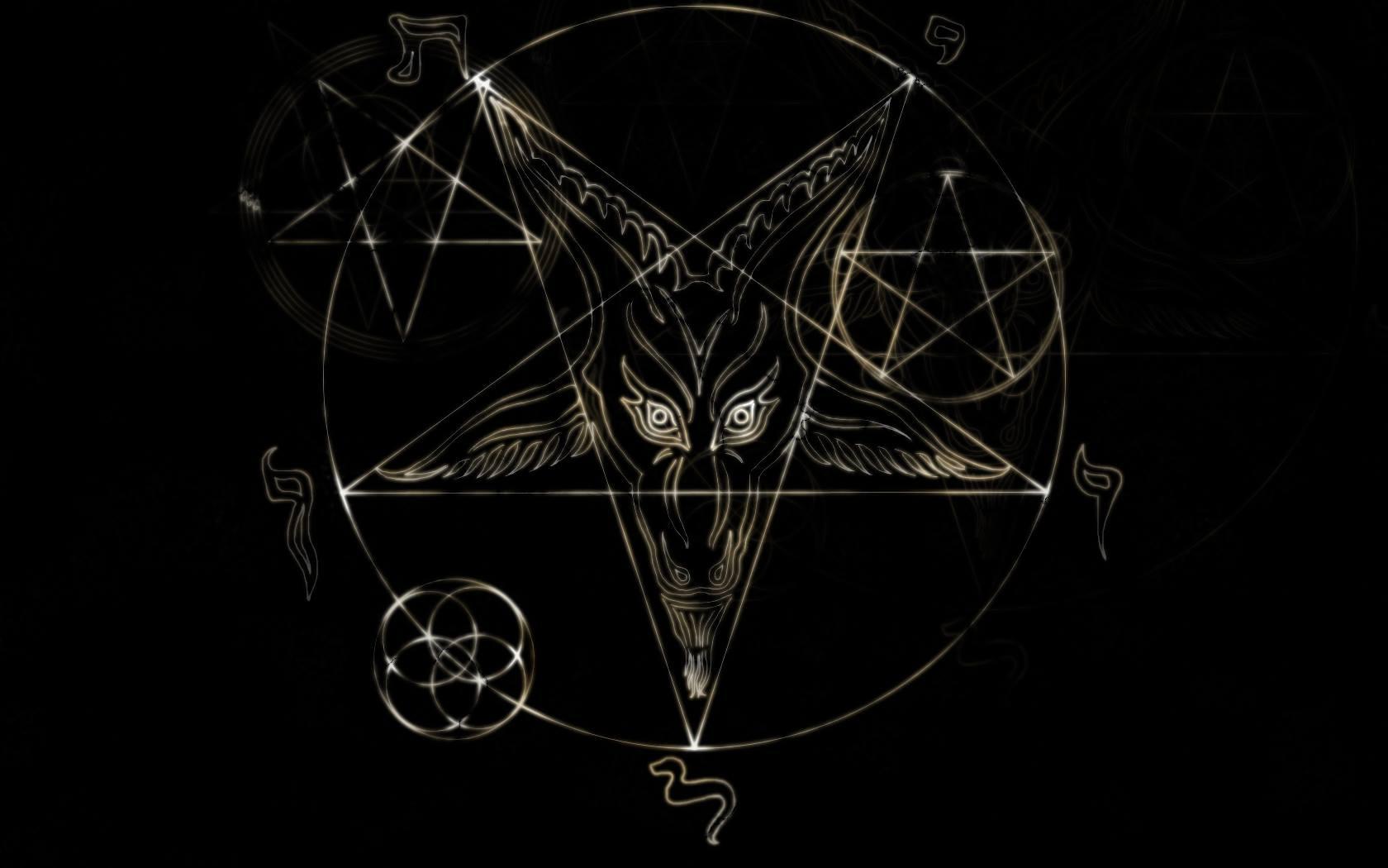Lucifer Wallpaper 4k: Satanic Pentagram Wallpapers