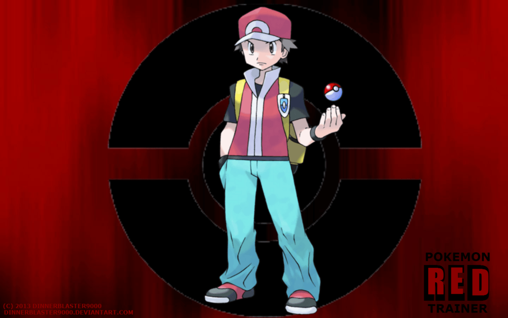 DeviantArt: More Like Pokemon Trainer Red Wallpapers by