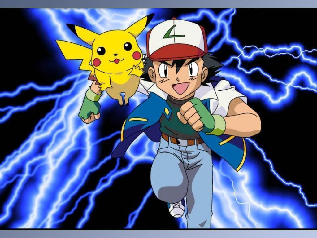 Pikachu and Ash