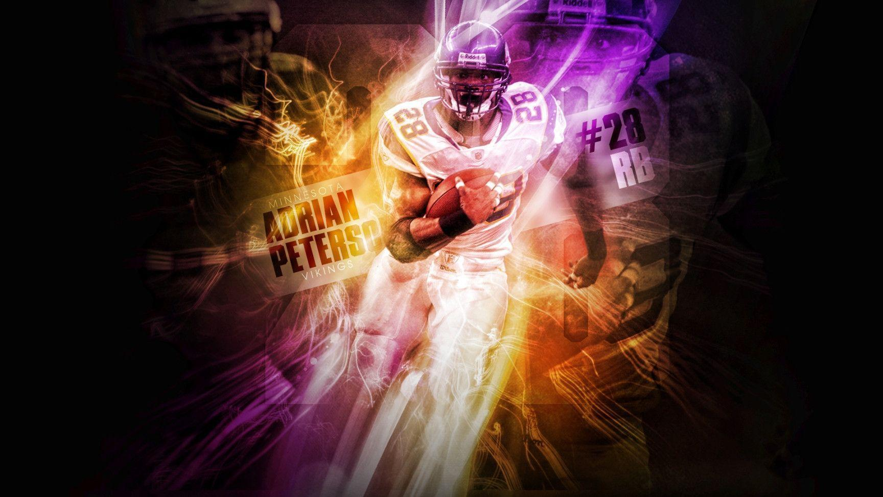 Minnesota Vikings Adrian Peterson | Free Download Wallpaper from ...
