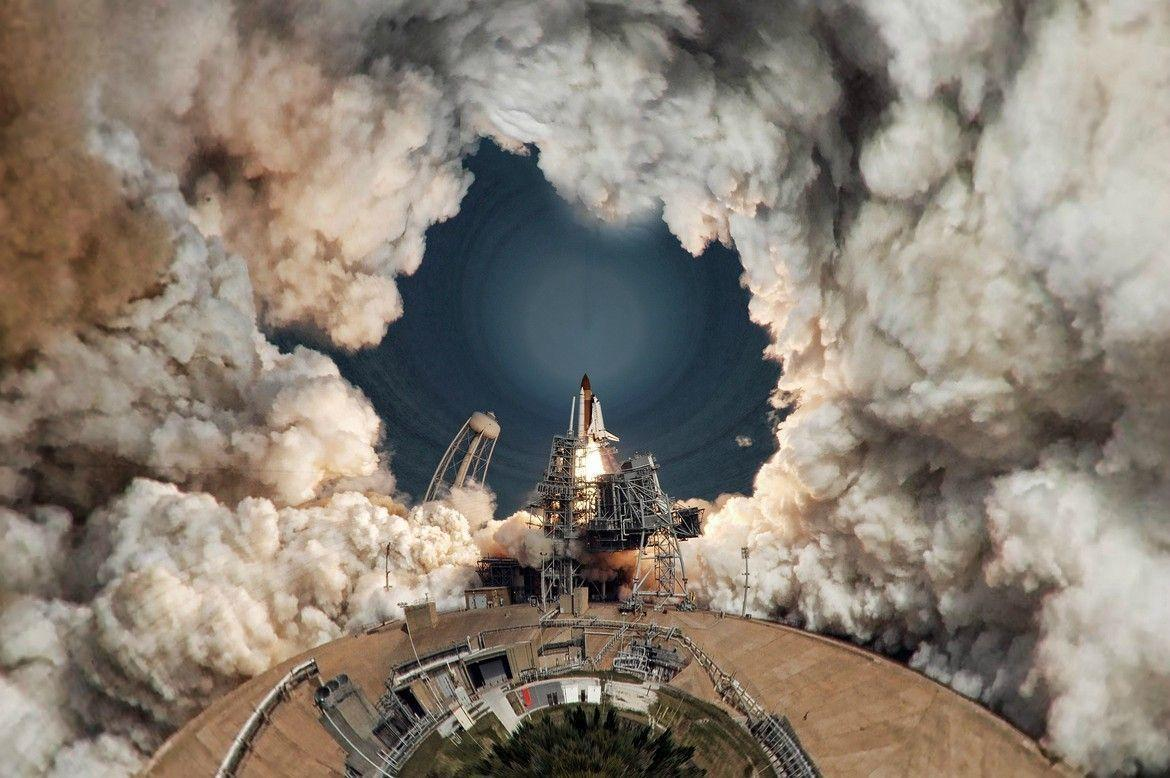 Pics] 360° Space Shuttle Launch: New Wallpaper?