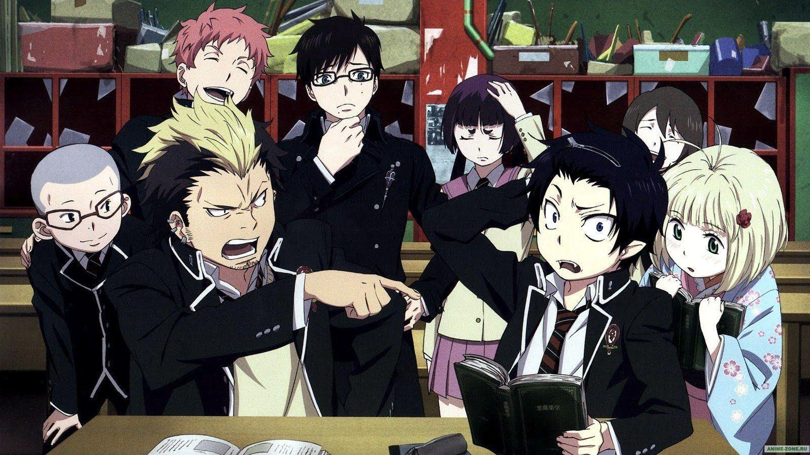 epic blue exorcist wallpaper - photo #34