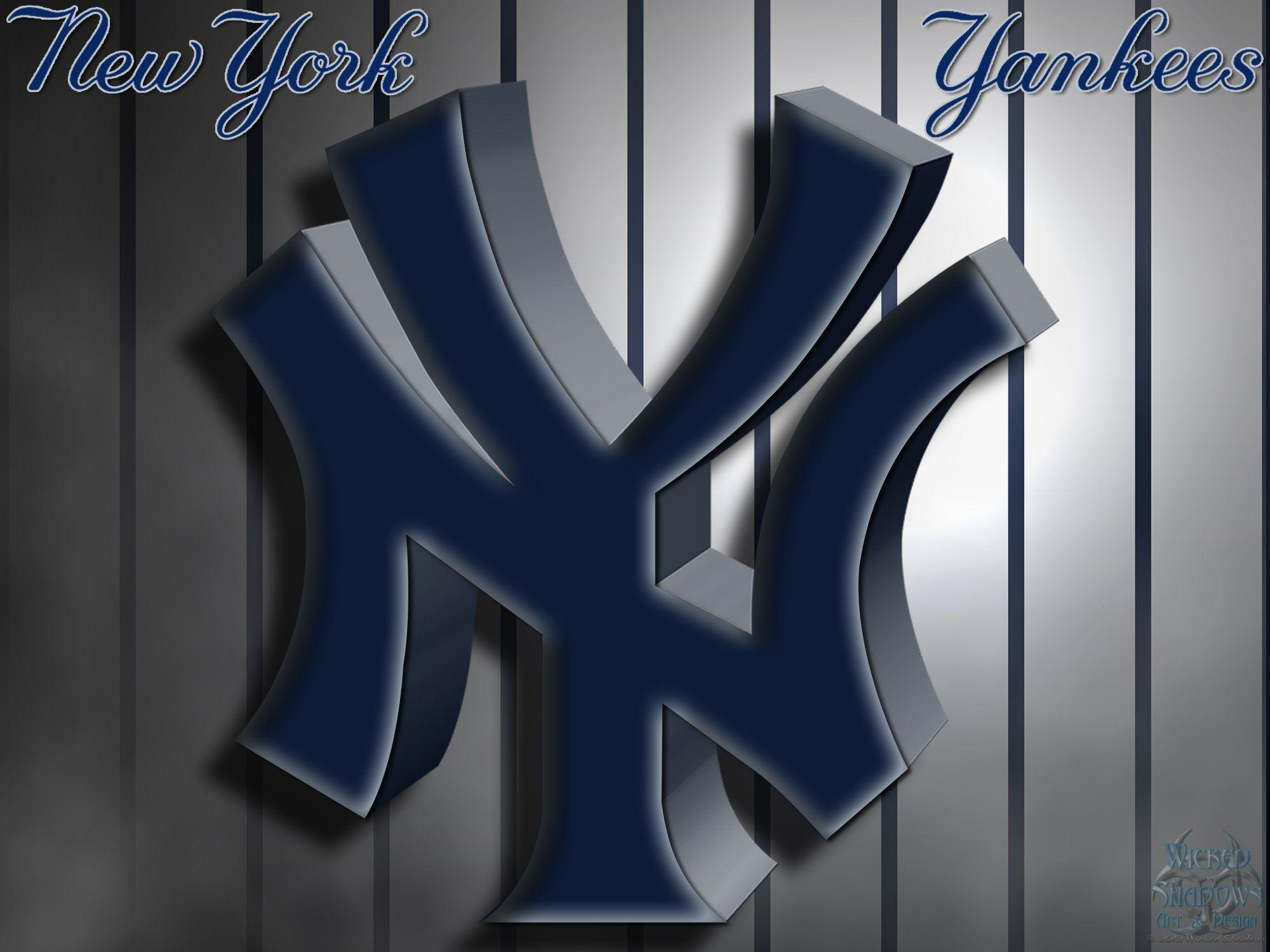 New York Yankees Logo Iphone Wallpapers Wallpapers