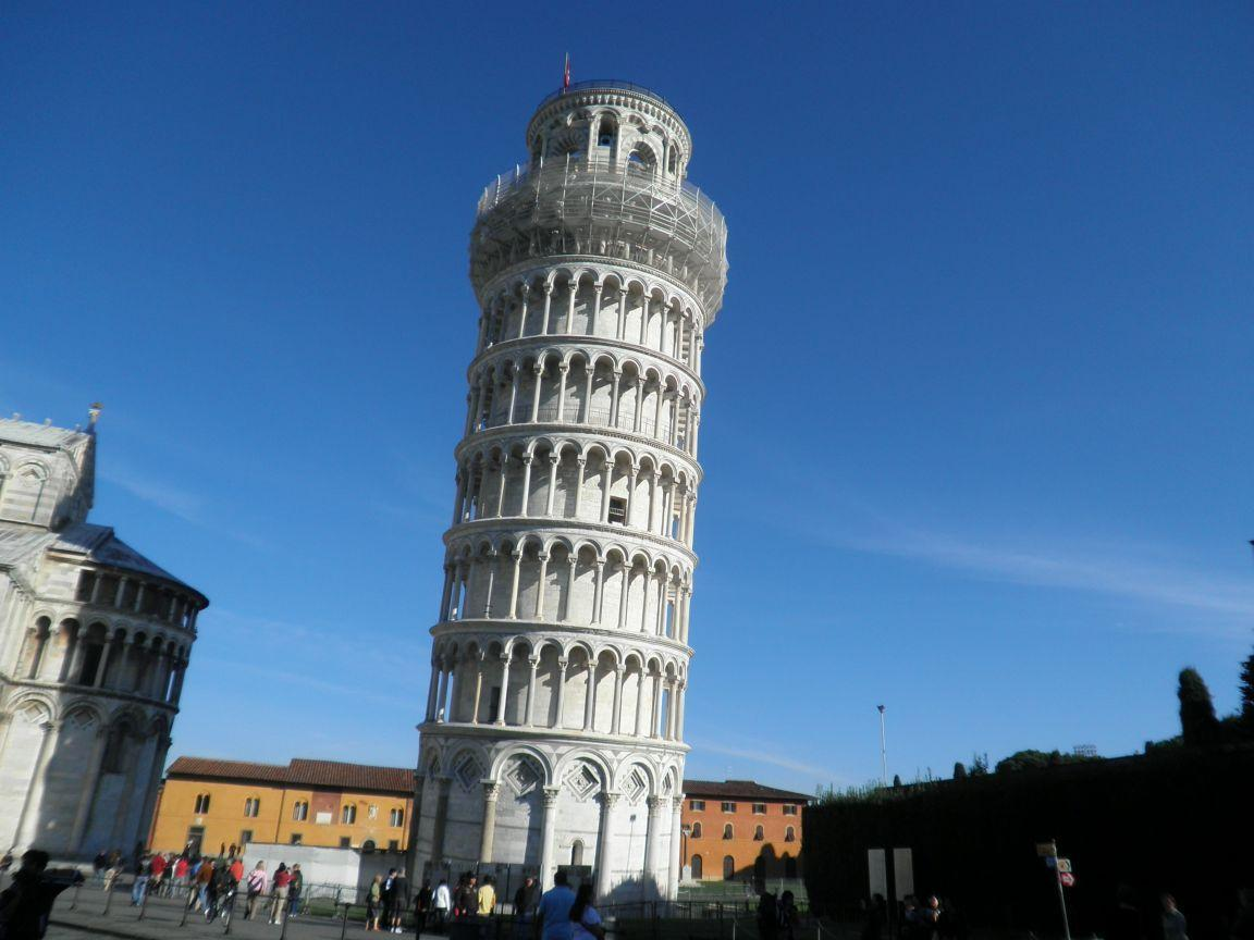 Visitor For Travel: Amazing Leaning Tower of Pisa, Italy HD Wallpapers