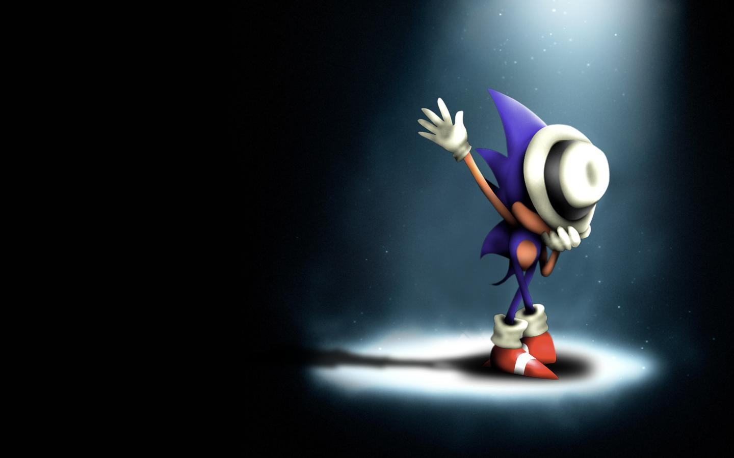 Sonic The Hedgehog Funny Dance Hat Wallpapers Wallpapers