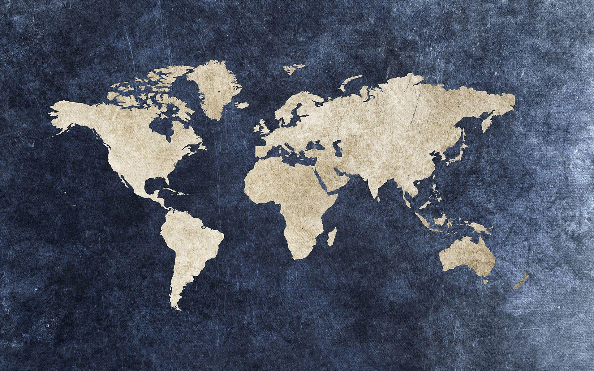 Free Desktop World Map: World Map Wallpapers High Resolution
