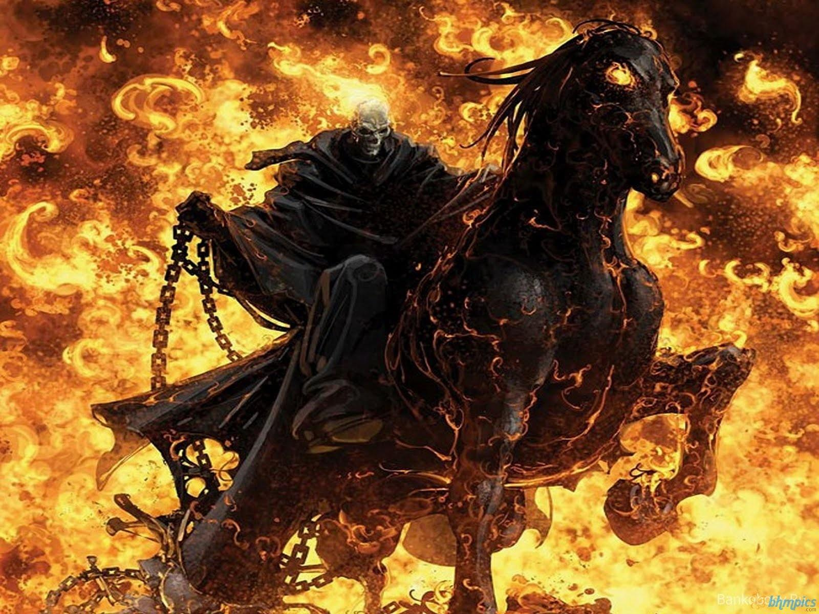 Wallpapers For > Ghost Rider Face Wallpapers