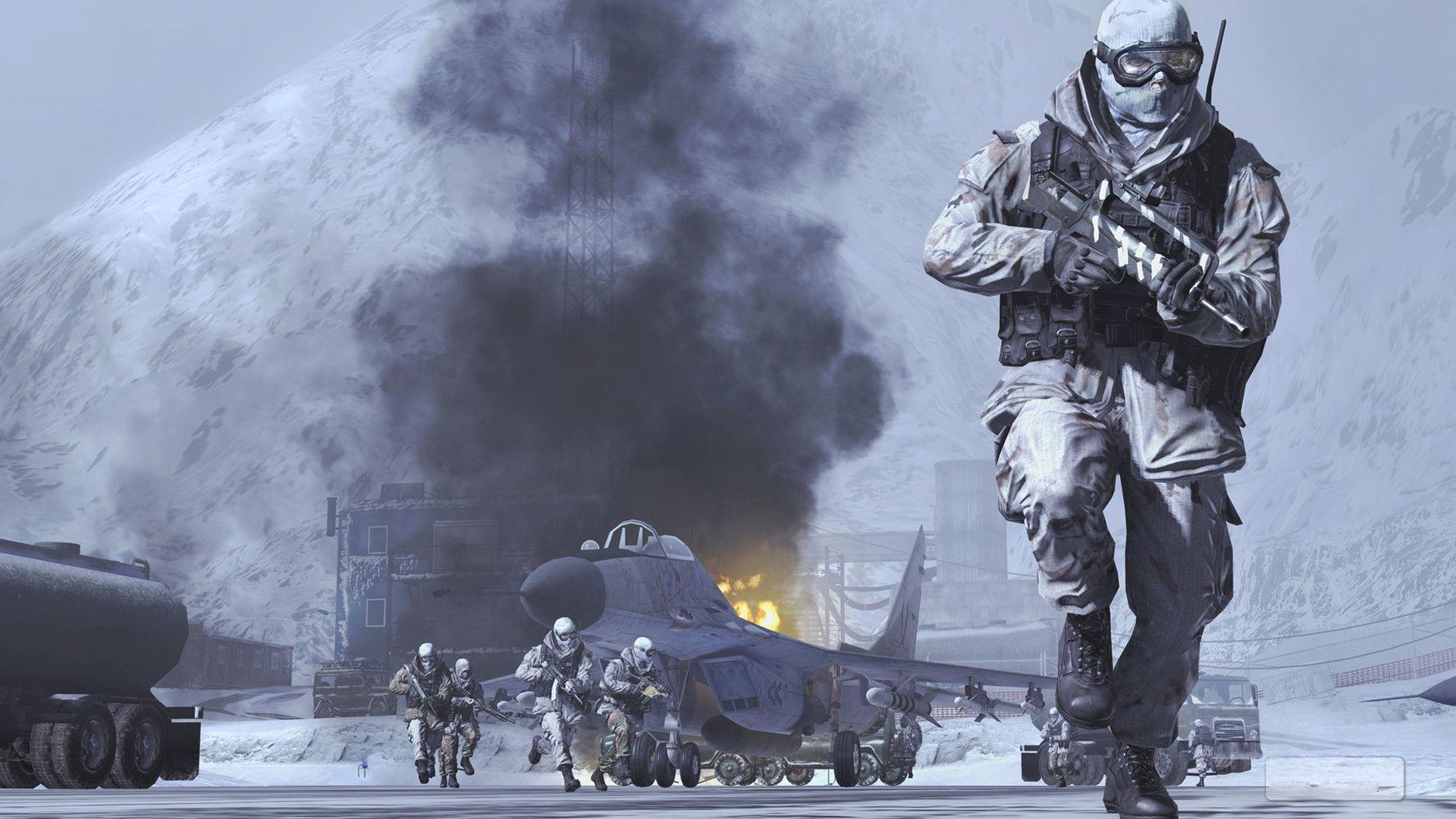 Call Of Duty Modern Warfare 2 Wallpaper 1080p Yokkaichicon