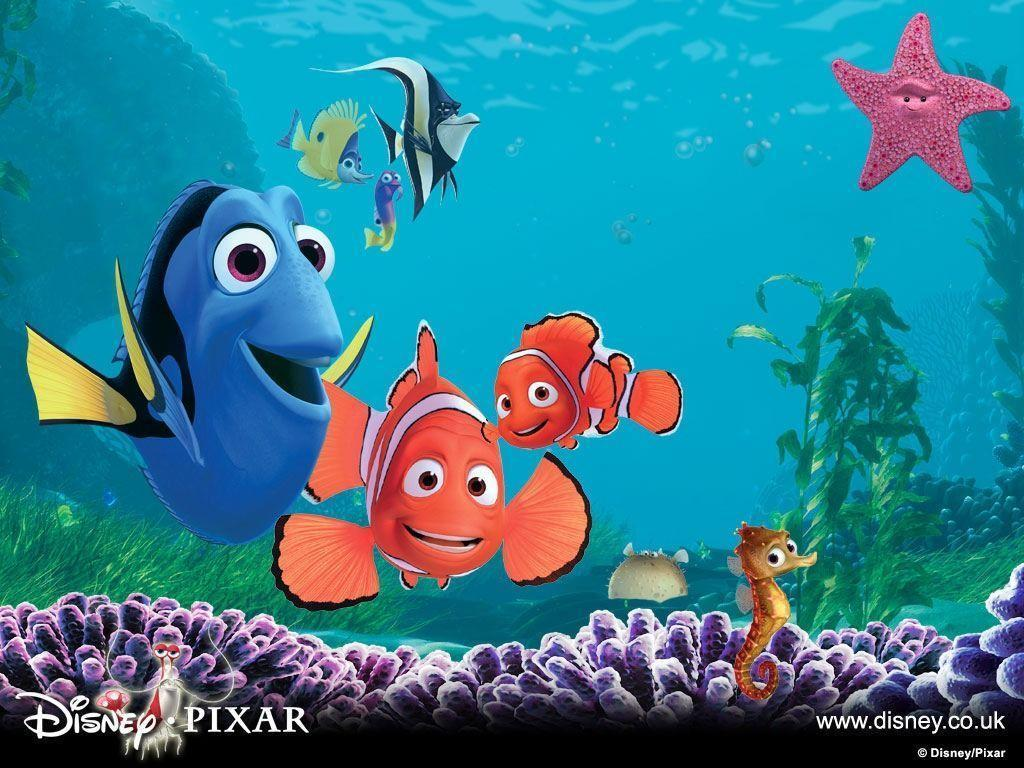 Finding Nemo Wallpaper Number 1 1024 X 768 Pixels