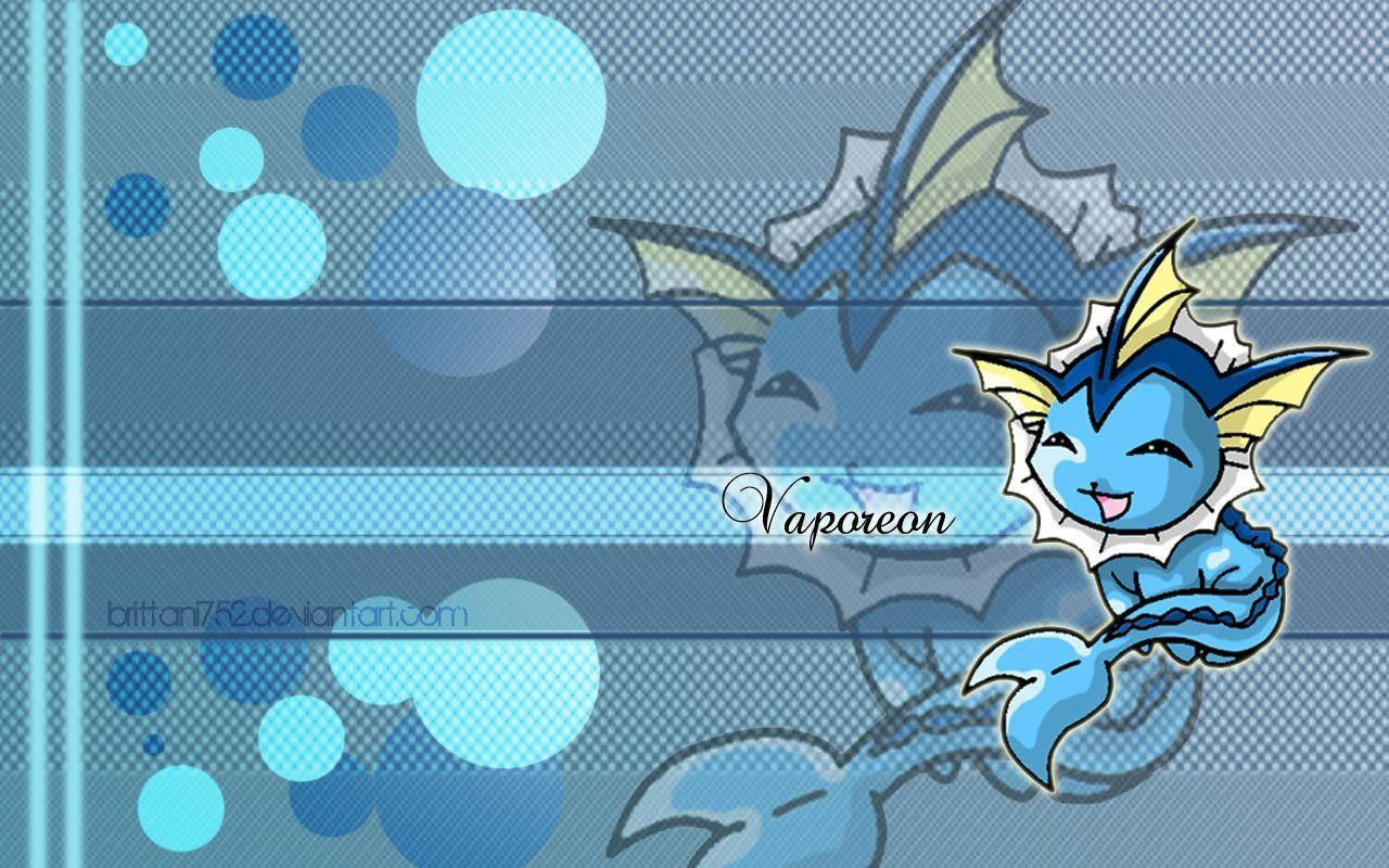 deviantART: More Like Vaporeon Wallpapers by Brittani752