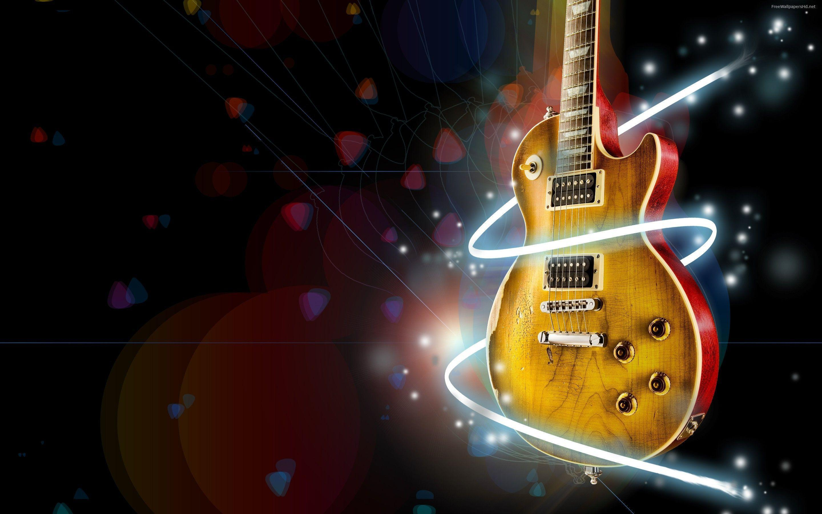 Guitar Hd Wallpapers Free Downloads