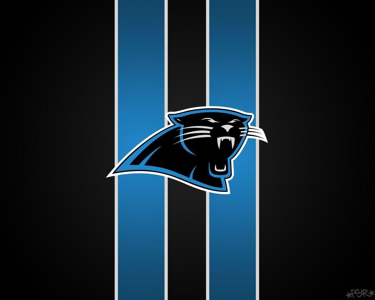Carolina panthers new logo wallpaper