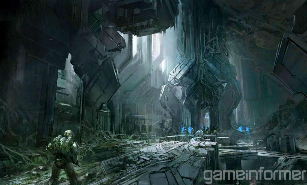 HALO 4 Wallpapers Concept ART Image POSTER HD