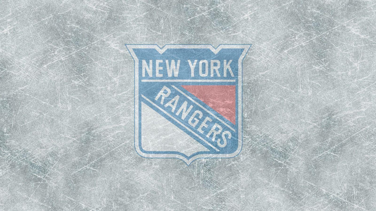 New York Rangers Ice Background Clipart