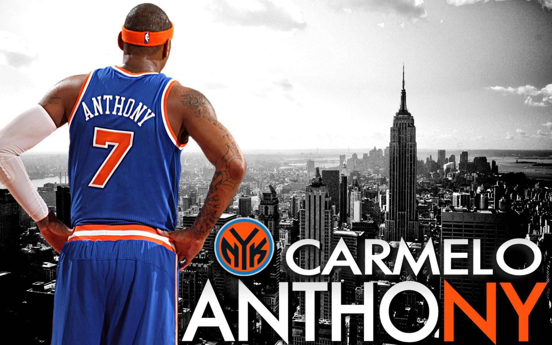 New York Knicks 2014 Carmelo Anthony Wallpapers Wide or HD
