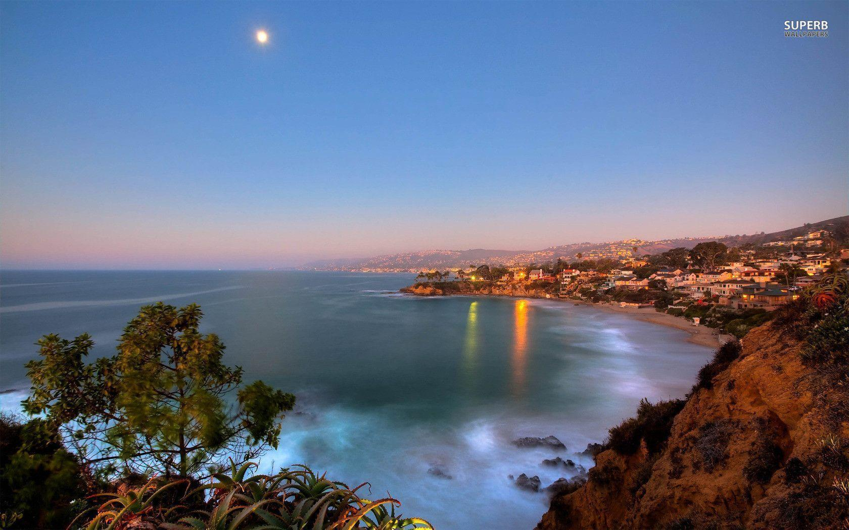 Laguna Beach Desktop Background