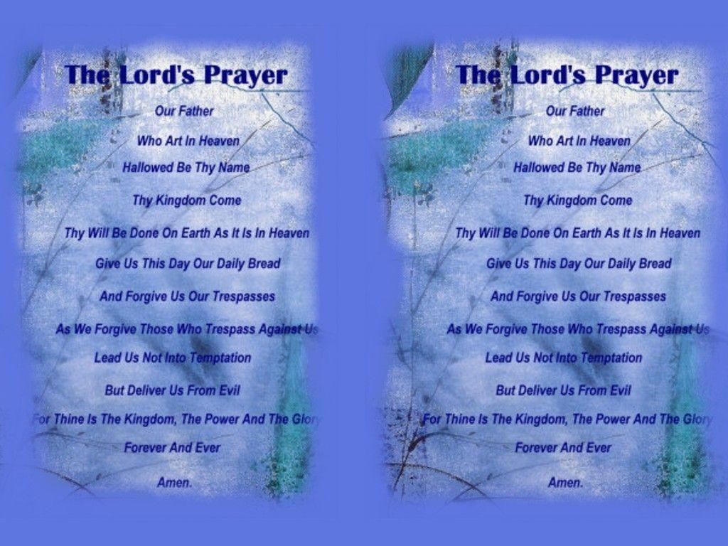 Lords Prayer Wallpapers 5646 Download Free HD Desktop Backgrounds
