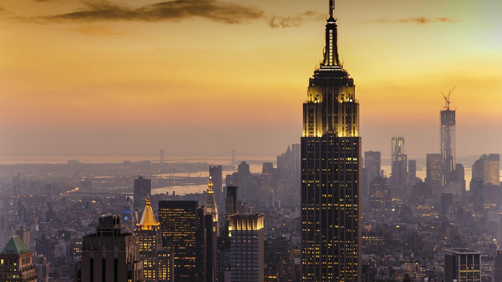 New York City Sunset Wallpapers For Android Tablet Free Download