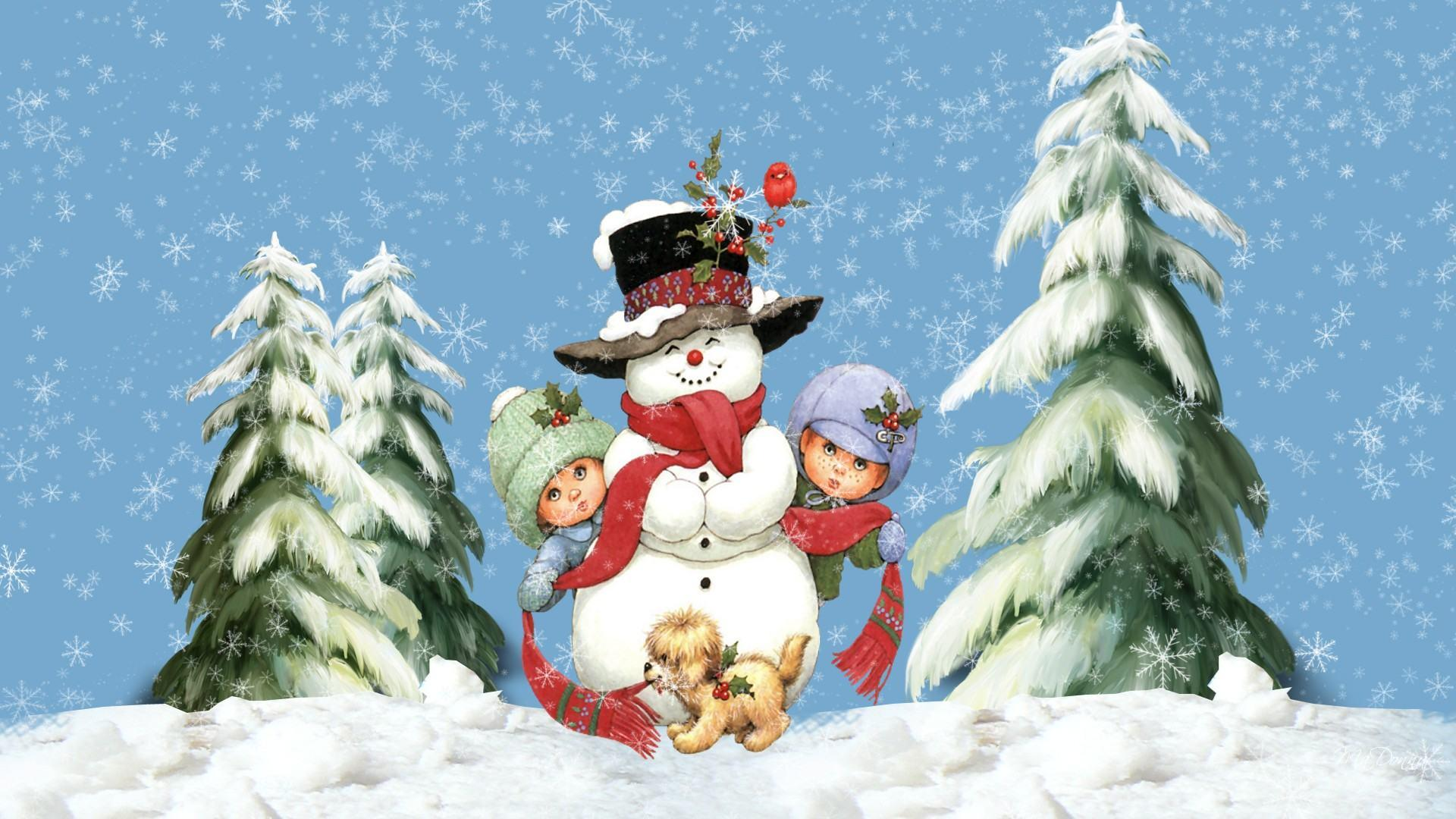 Snow Christmas Wallpapers - Wallpaper Cave