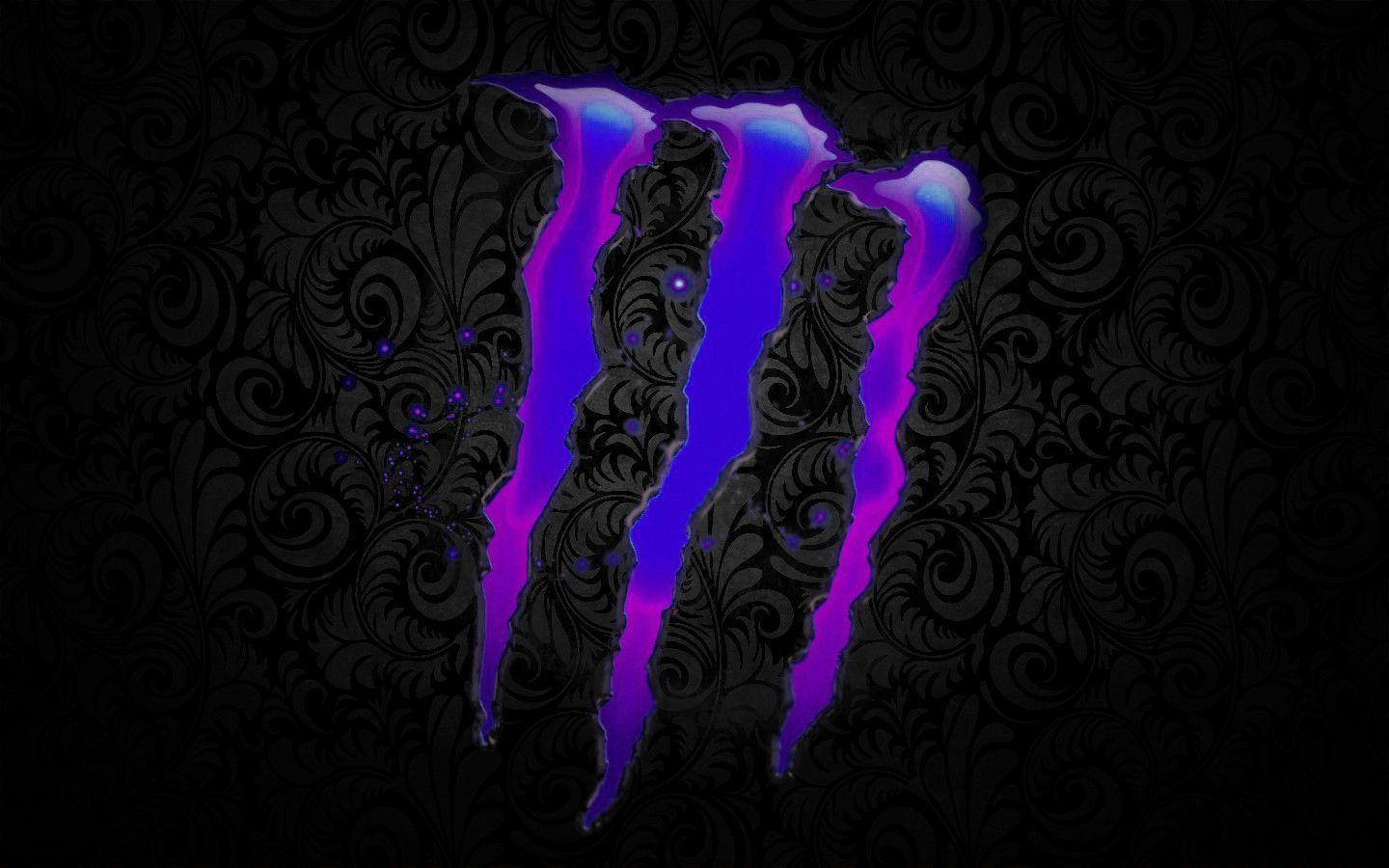 monster logo wallpapers wallpaper cave