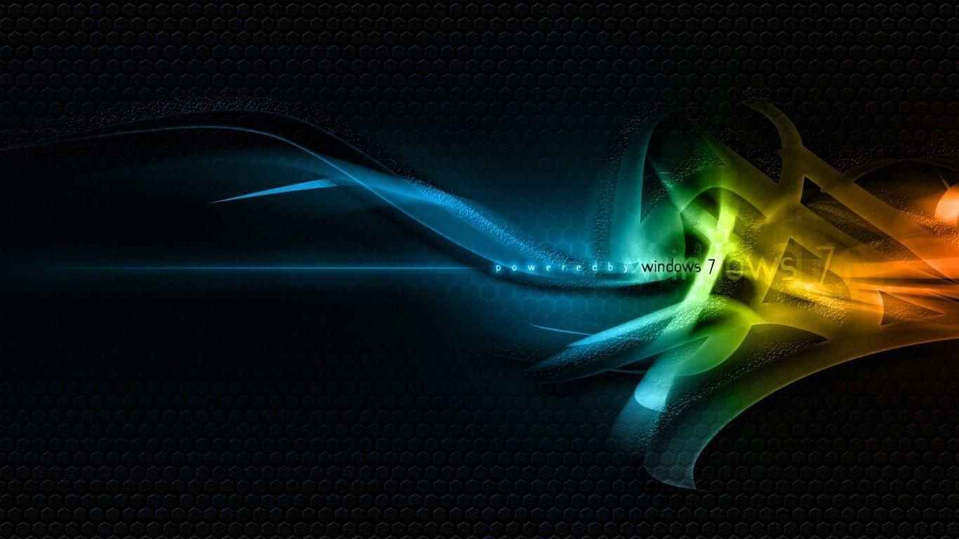 Windows 7 Wallpaper 1366X768 Desktop Background