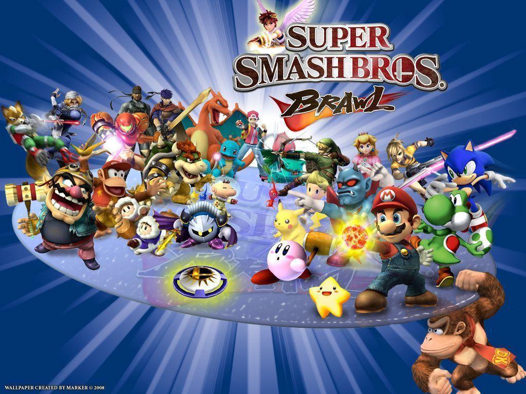 Super Smash Bros Brawl Wallpapers Wallpaper Cave