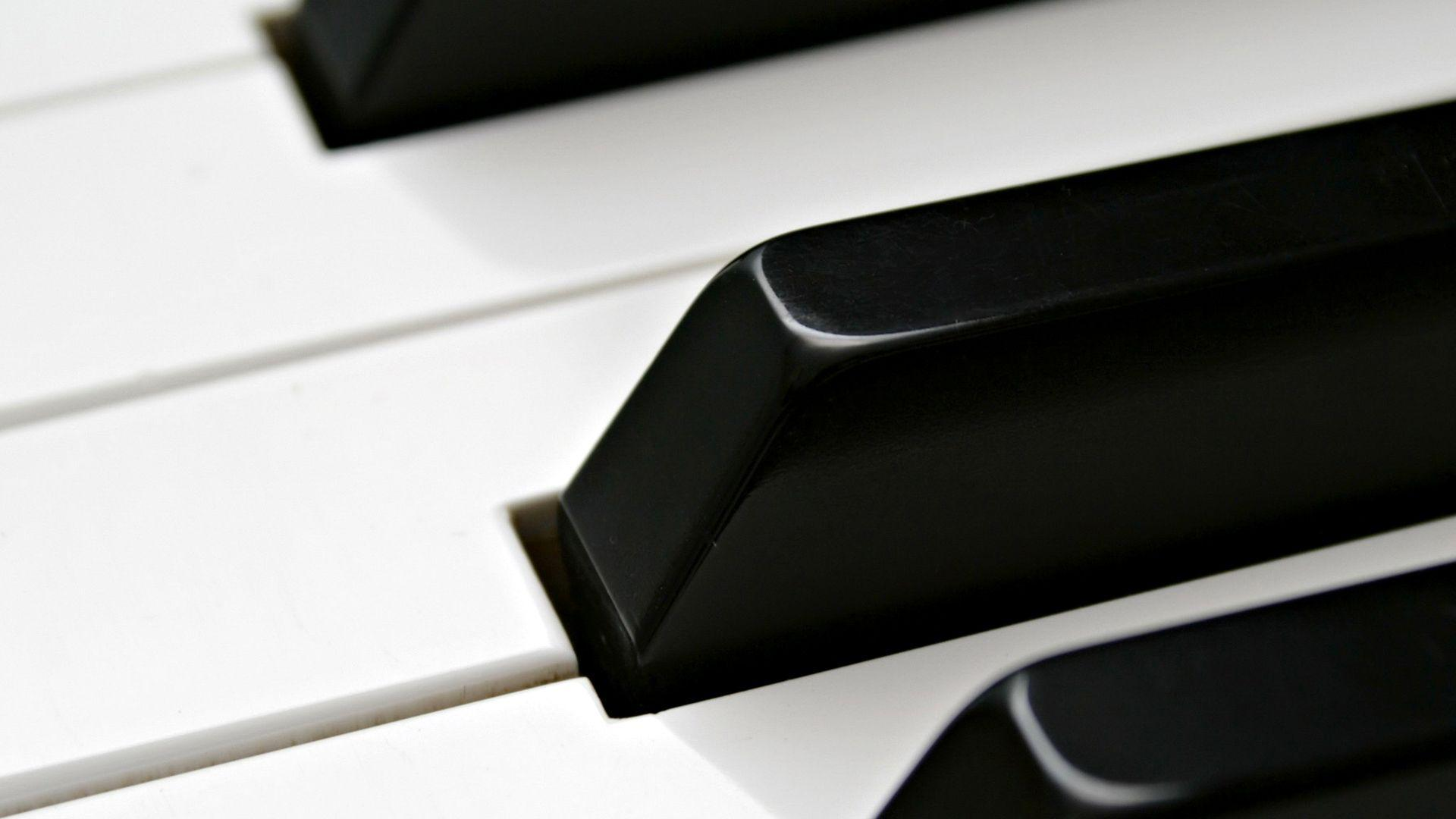 Wallpapers For > White Rose Piano Wallpaper