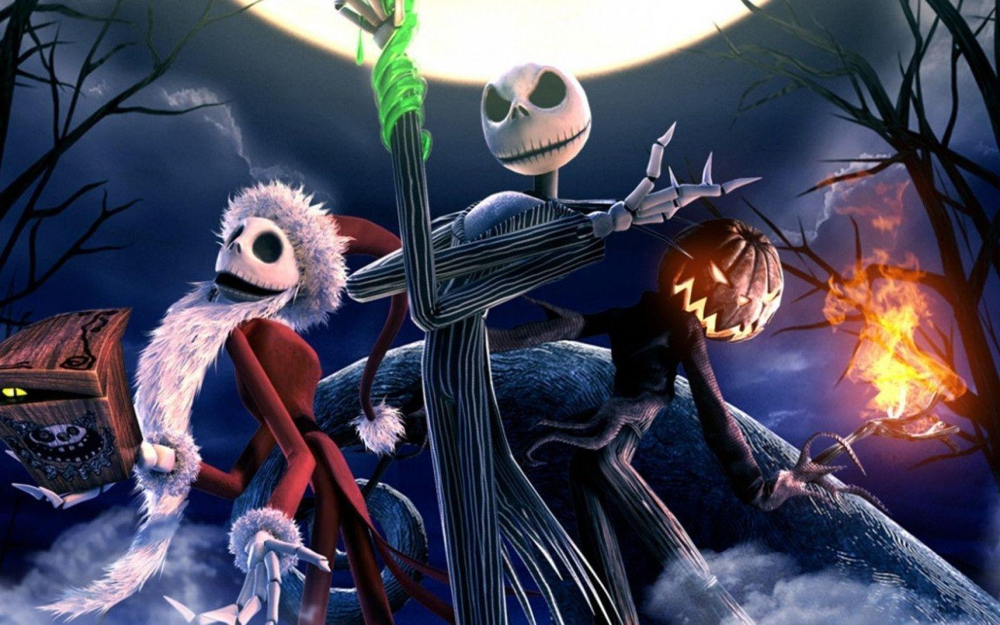 The Nightmare Before Christmas Skeletons Desktop PC And Mac