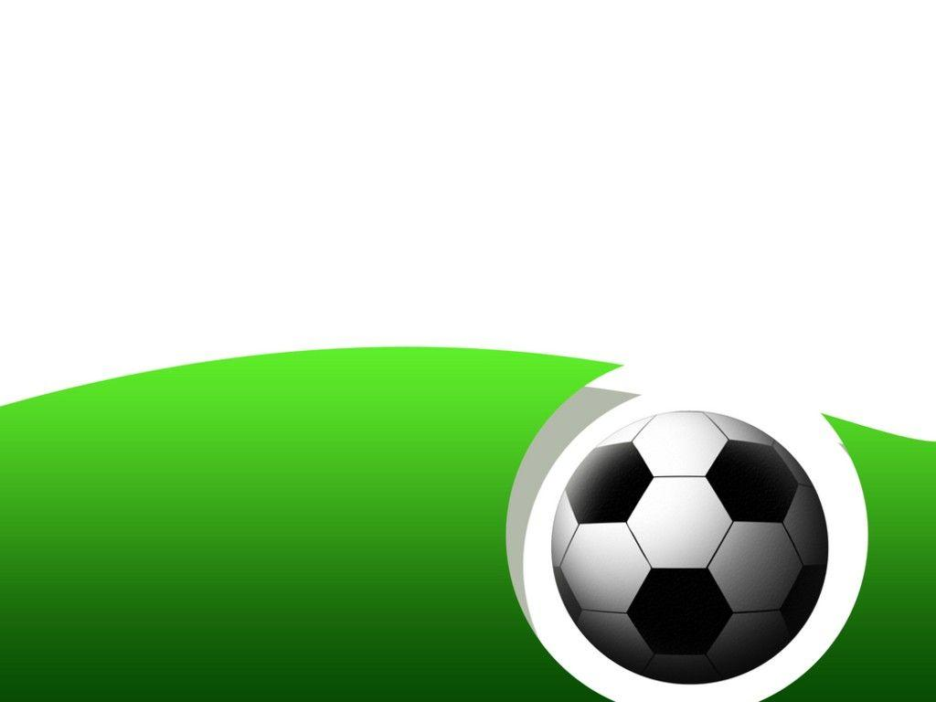 Abstract Soccer Frame PPT Backgrounds 1024x768 resolutions