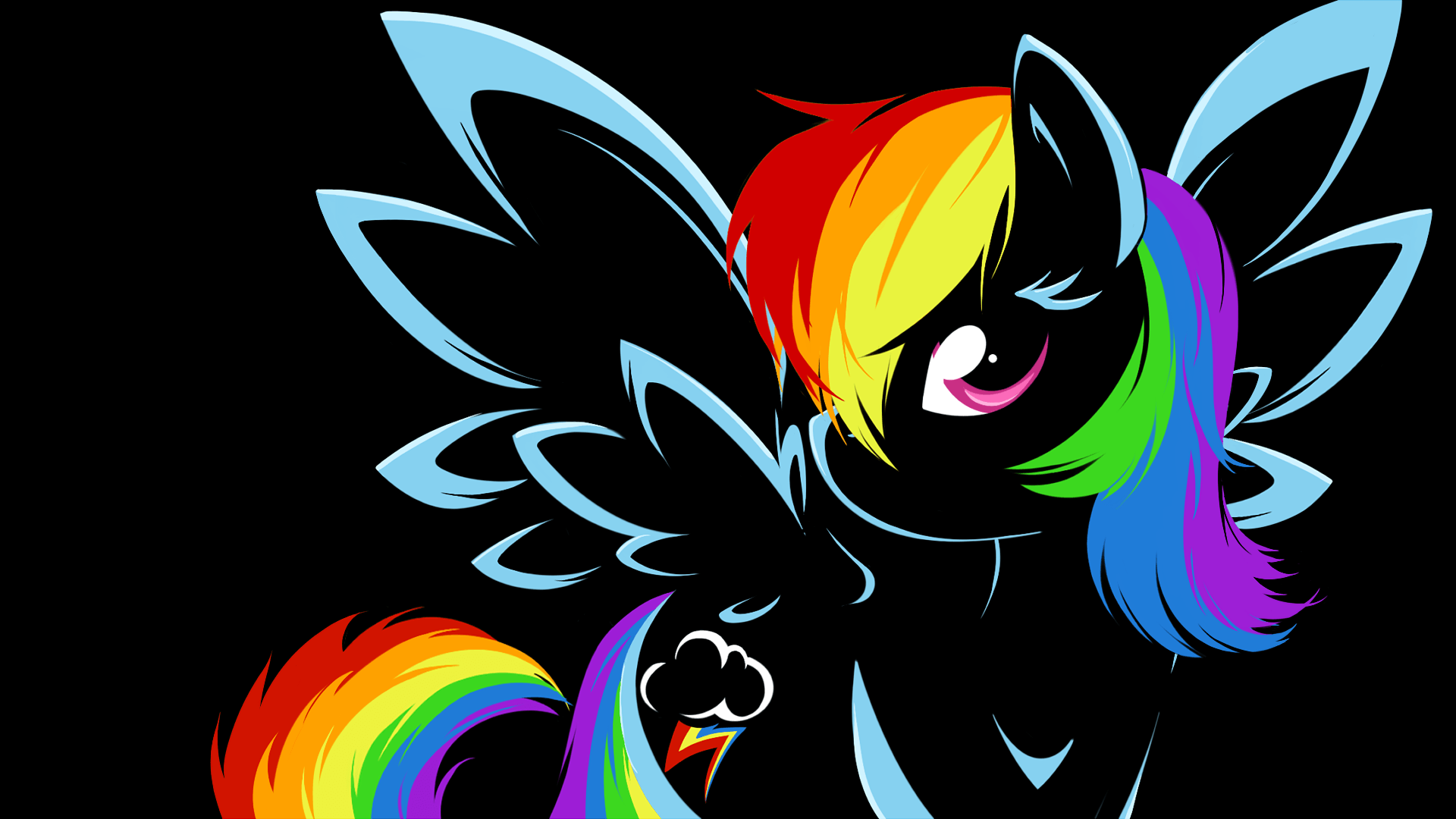 rainbow dash sphere background - photo #37