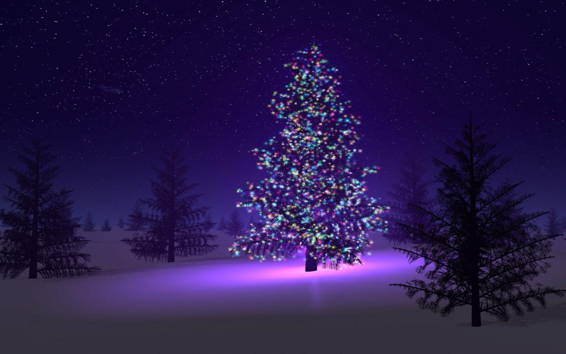 Christmas Tree Wallpapers Free