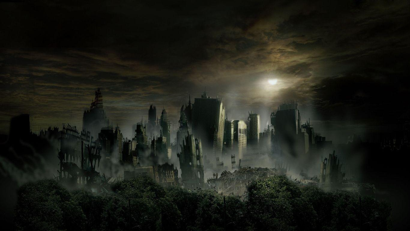 dark city night hd