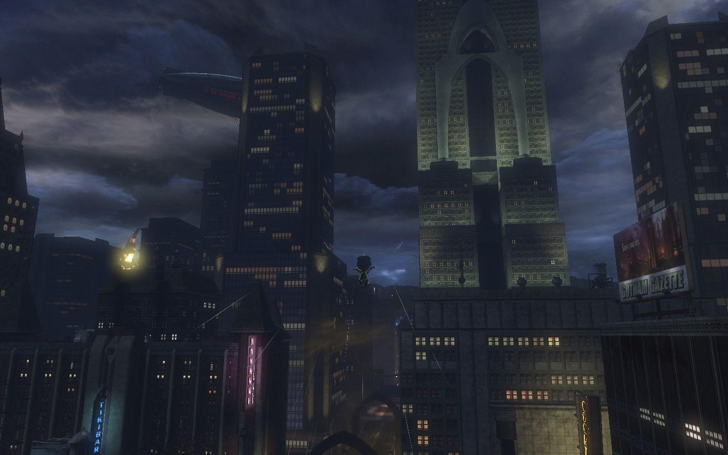 Gotham City The Dark Night Desktop Wallpaper 27078 Hi-Resolution ...