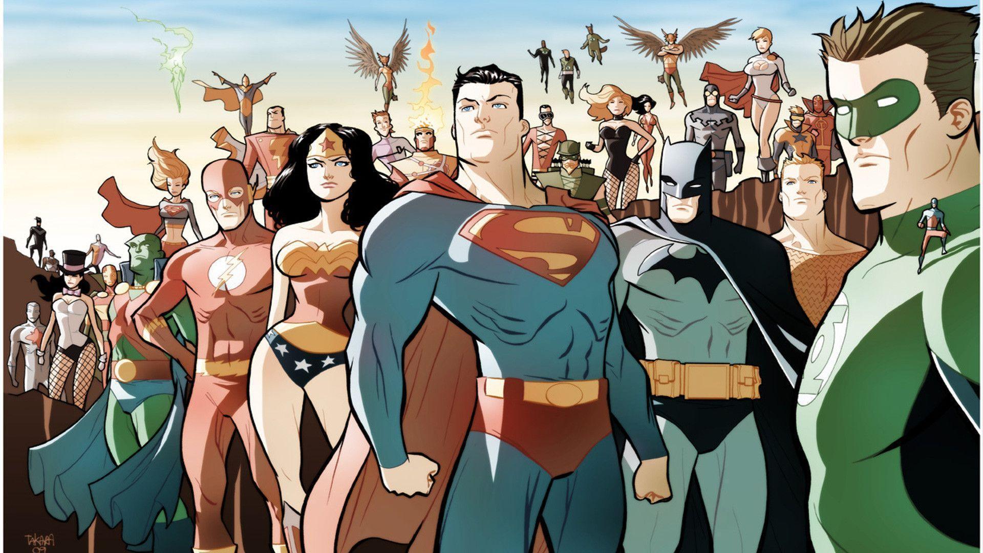 Dc Comics Justice League : Dc comics wallpapers wallpaper cave