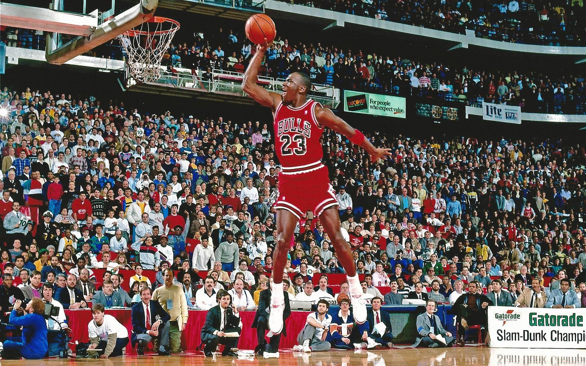 Michael Jordan Wallpaper Free Throw Dunk 9739