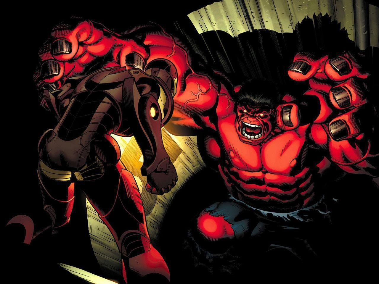 RED HULK : Desktop and mobile wallpapers : Wallippo