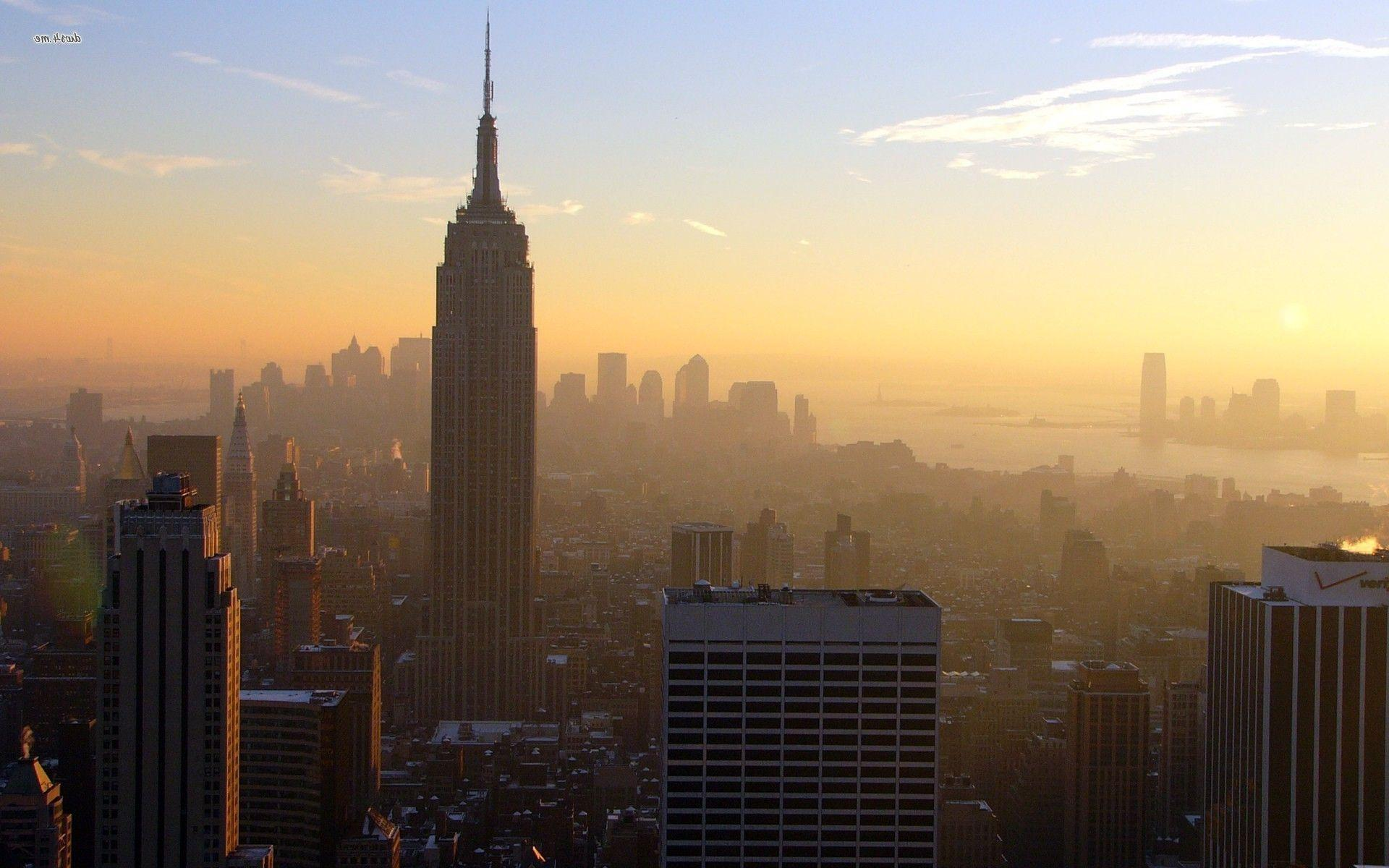 Empire State Building New York City Free Desktop City Wallpapers
