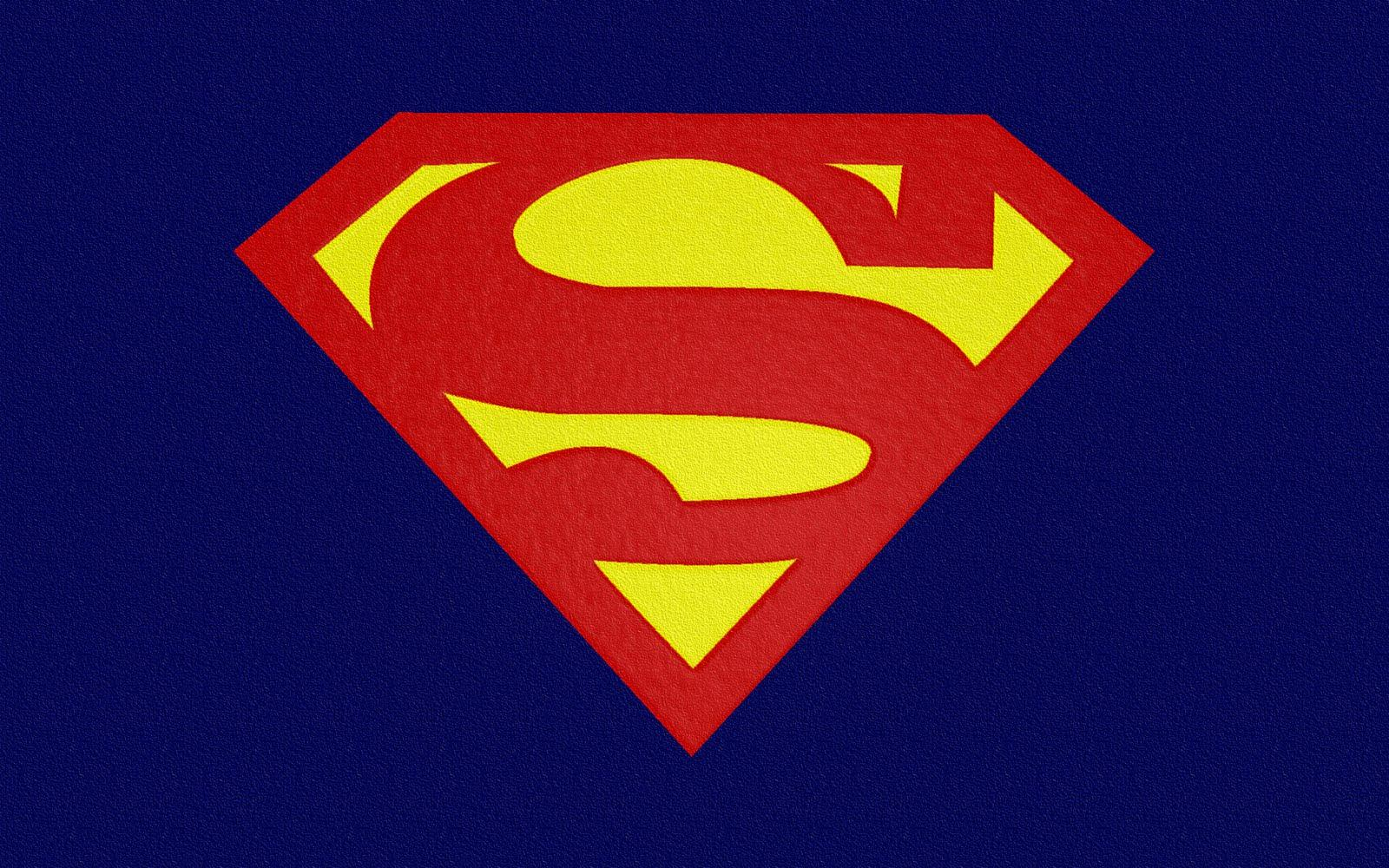 Superman Logo HD Background Wallpaper