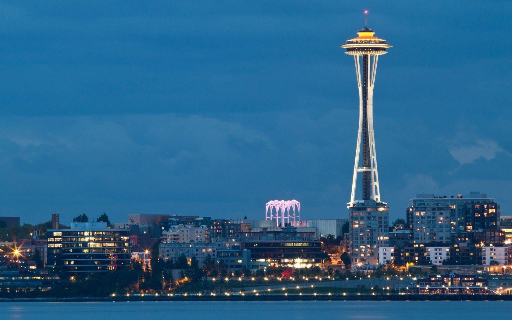 2014 Space Needle Tower In Seattle Washington USA | HD Wallpaper 2015