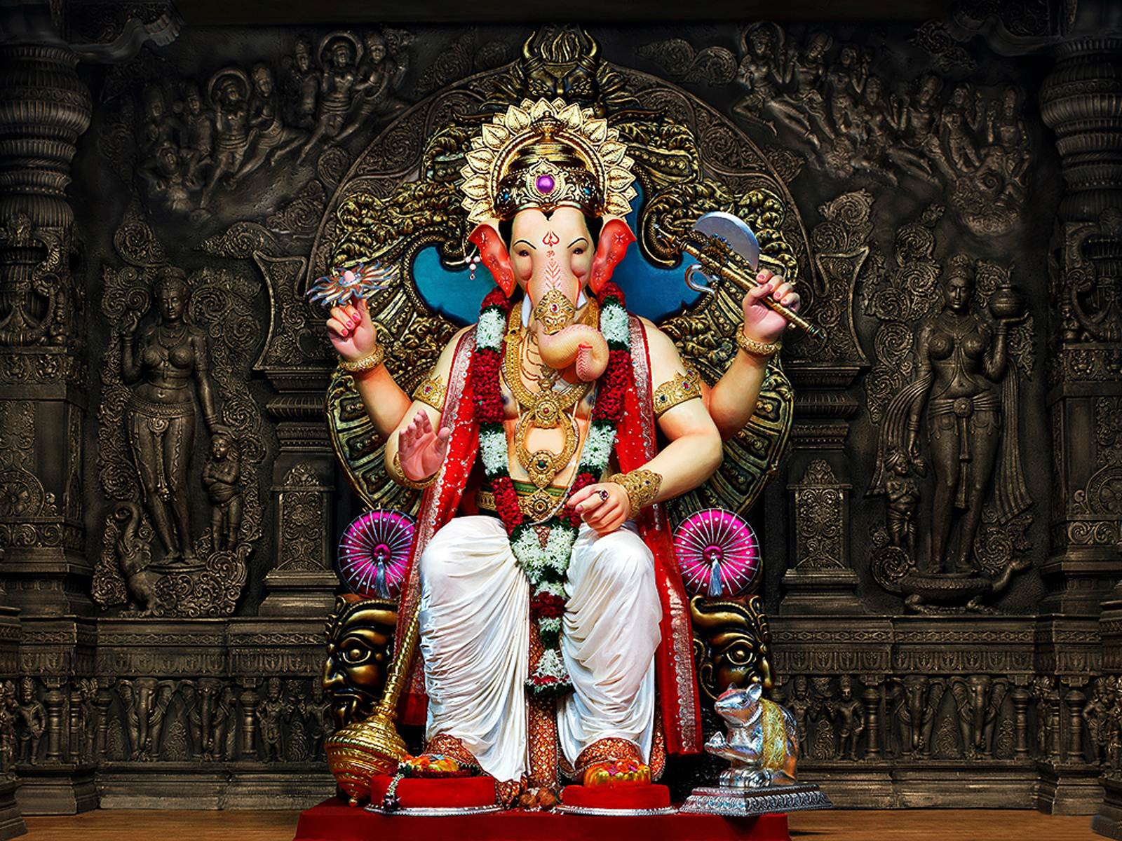 Hd wallpaper ganesh - Wallpaper Happy Ganesh Hd Wallpapers Backgrounds Happy Ganesh