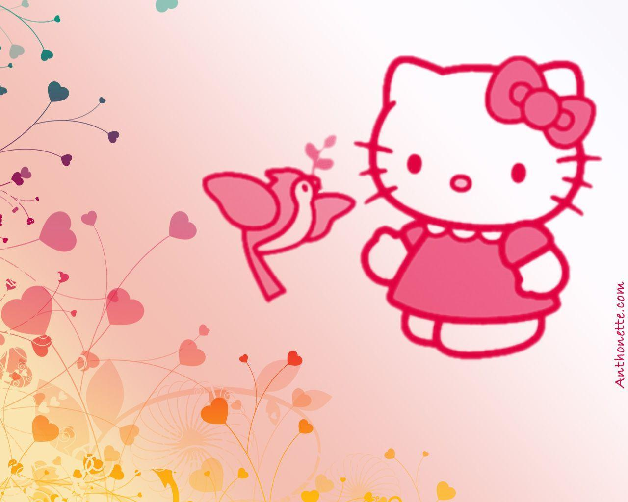 Hello Kitty Backgrounds For Computers Hello Kitty Background...