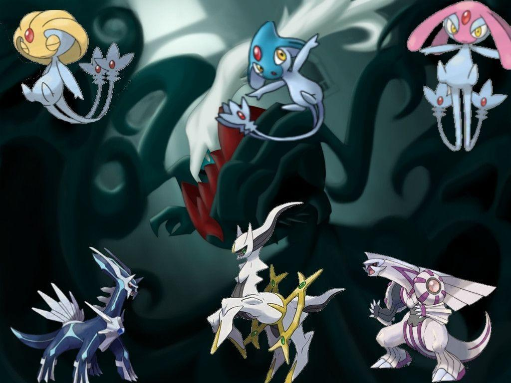 Legendary Pokemon Wallpapers For Computer 19855 Wallpapers