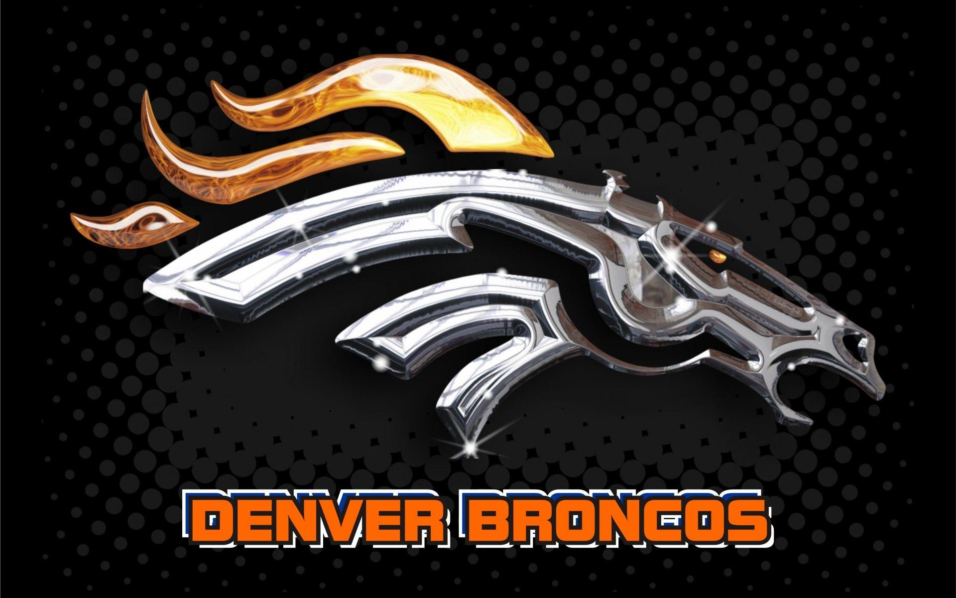 how to draw the broncos symbol