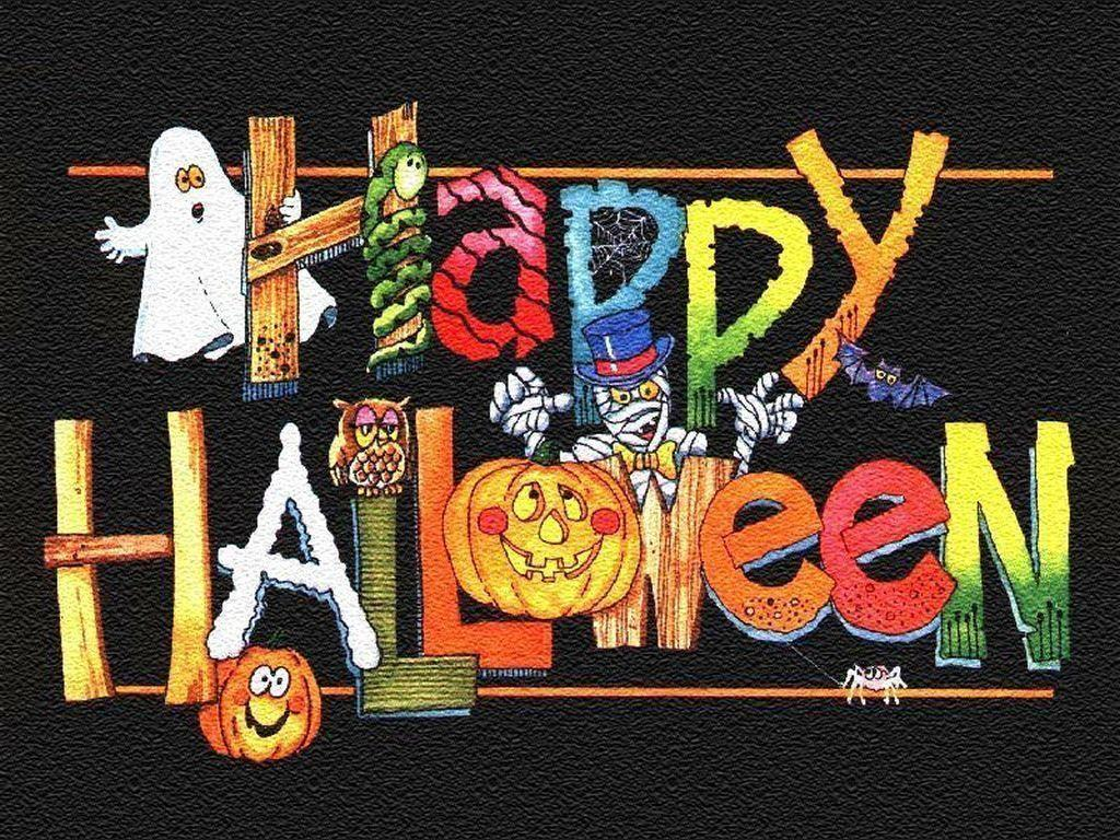 Wallpapers For > Cute Happy Halloween Wallpapers Hd